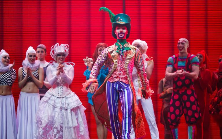 Dance Circus show «Alice in Wonderland»