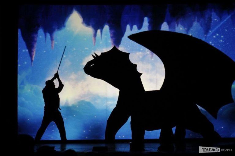 Shadow theatre with shows AladdinHerculesAlice in Wonderland