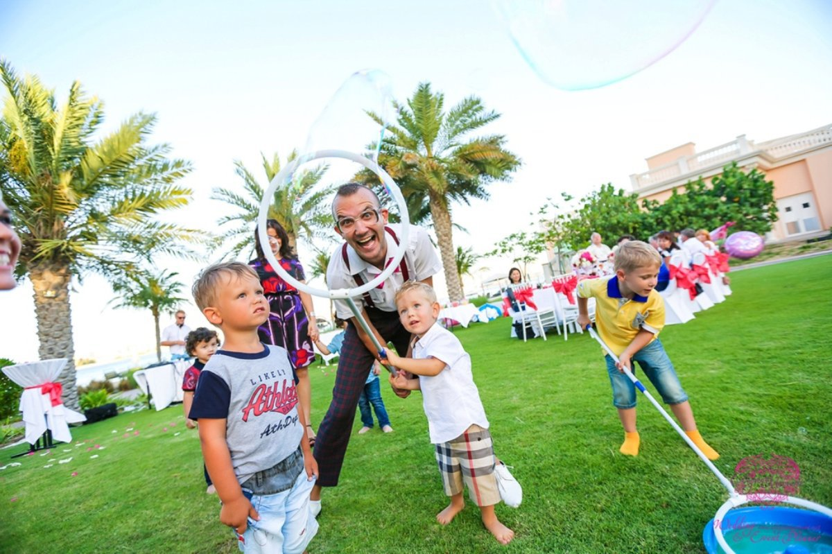 KIDS PARTY IN Kempinski Residence the palm