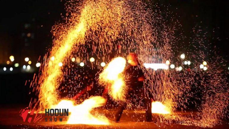 Sand Fire Show