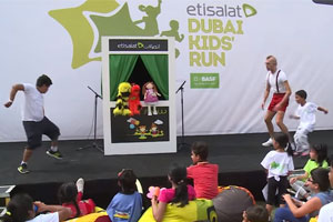 Our Interactive Puppet Show With Kids For Etisalat