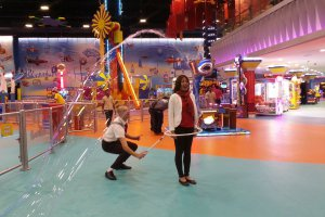 Opening Of Kids Area In Yas Mall